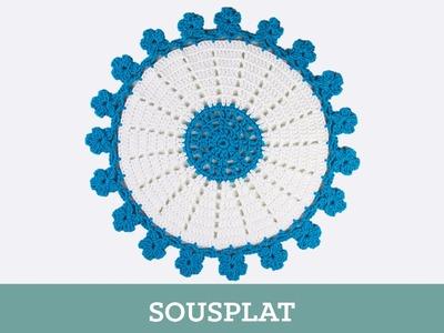 Criações em Crochê: Sousplat | Luciana Ponzo