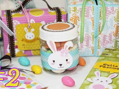 DIY -  Ideias Baratinhas para a Pascoa #2 -  Segredos de Aline