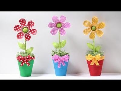 Flor de Garrafa Pet
