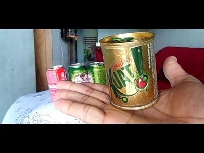 Ganhe dinheiro com lata de Refrigerante