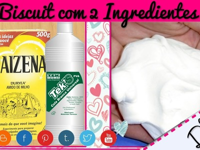 Massa de Biscuit com 2 Ingredientes