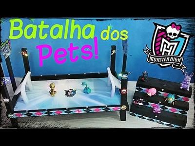 Monster High Arena de Batalha! Novo brinquedo Peter Toys!