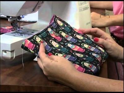 Mulher.com 13.09.2012 - Bolsa em tecido 2.2