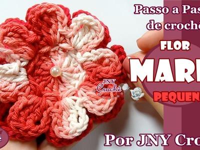 PAP de crochê Flor Maria (pequena) por JNY Crochê