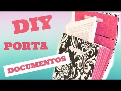 Porta Documentos feito com papelão
