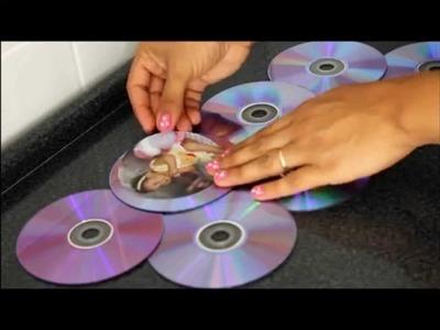 Quadro de fotos com DVD,super fácil.