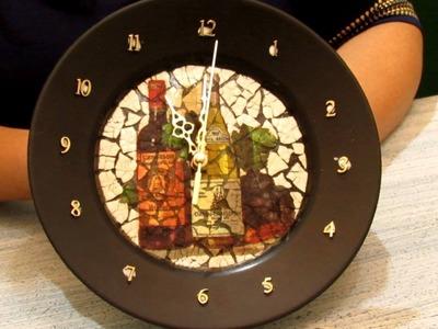 Andreia Gomes no PGM TUDO POSSO! Aprenda a fazer um lindo relógio