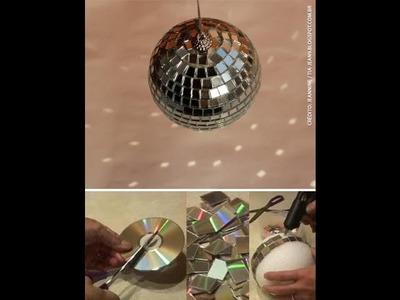 Como fazer um globo espelhado