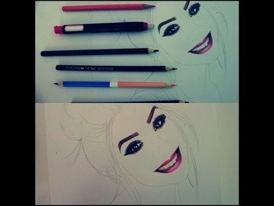 Como pintar a boca da BocaRosaBlog