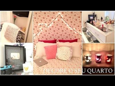 ★ Decore o seu quarto- Dicas simples e Baratas- TOUR antes e depois!