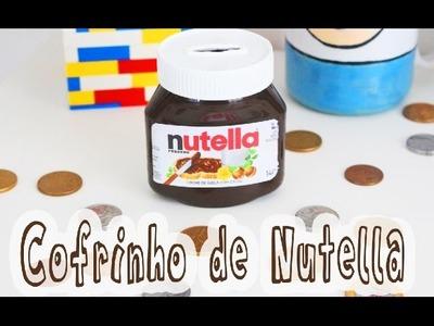 DIY: Cofrinho de Nutella - Faça você mesmo