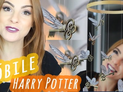 DIY::Mobile Chaves Voadoras Harry Potter - Especial Geek (Wing Keys)