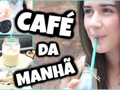 Ideias Rápidas de Café da Manhã  para volta às aulas! Marina Inspira