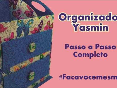 Organizador com Gaveta Embutida em Cartonagem - Yasmin