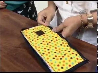 Porta carregador de celular Karina Morgado e Tati no Mulher.com