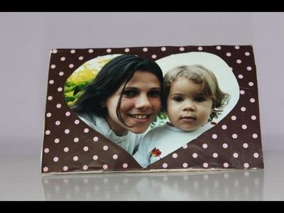 Porta retrato de coração(Dia das mães)- Como fazer?