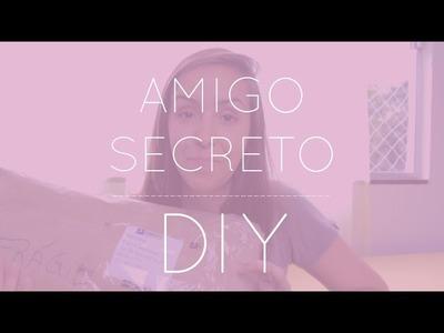 Revelação do Amigo Secreto DIY
