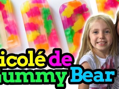 Aprenda a fazer Picolé Gummy Bears - Learn how to make Gummy Bears Popsicle