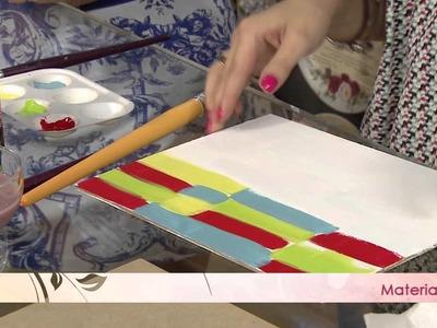 Aprenda a técnica da pátina com vela!