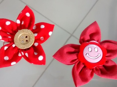 Como fazer Flor de Fuxico