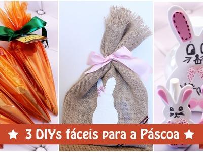 DIY: 3 dicas fáceis para a Páscoa #especialpascoa