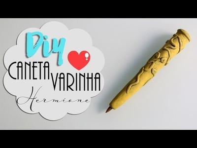 DIY: Caneta Varinha da Hermione Granger - Especial aniversário Harry Potter #potterweek