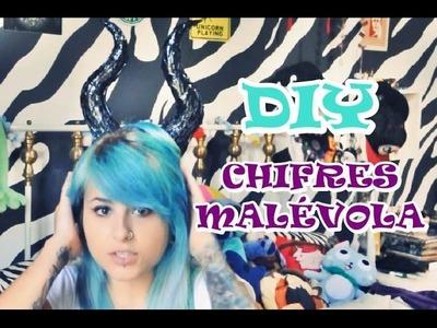 DIY: Chifres da Malévola ~ Faça Você mesmo!