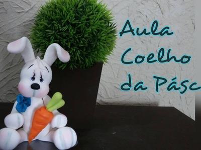 DIY - Coelhinho da Páscoa - Elisângela Motta