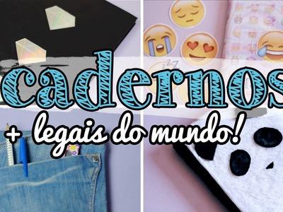 DIY Customização de Cadernos - 4 ideias incríveis!!!