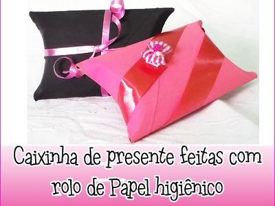 DIY - Embalagem feita de rolo de papel higiênico.Packaging made of toilet roll
