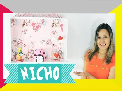 DIY Nicho - Reaproveitando gaveta