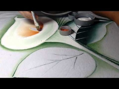 Ensinando a pintar copos de leite com lia ribeiro