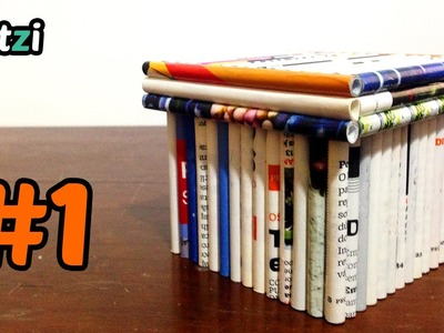 Magazine rolls box | Caixa de rolinhos de revista | #1