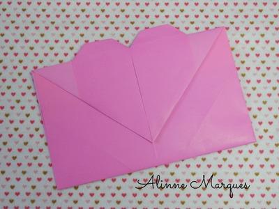 Origami - Envelope coração