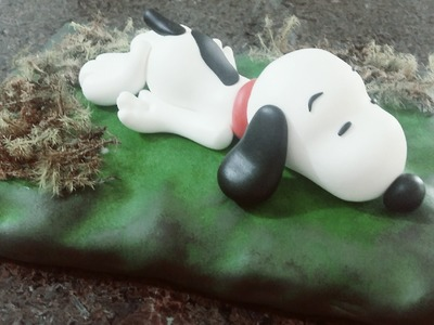 Passo a Passo do SNOOPY Personagem Infantil