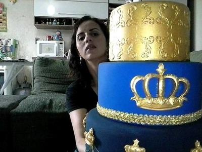 Príncipe Murilo Faz 2 Parte 3 decoração, bolo fake