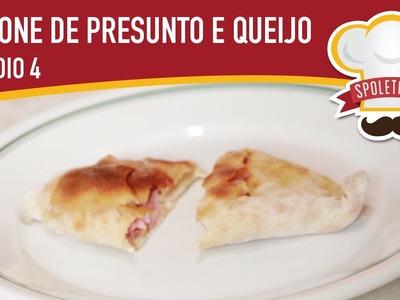 Spoletando #4: Aprenda a fazer calzone de queijo e presunto!