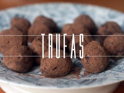 Trufas de Chocolate de