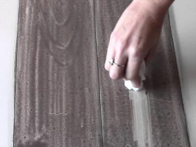 Tutorial Técnica de Pintura Imitação Madeira