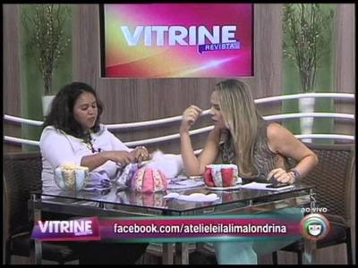 Artesã ensina xícara de tecido decorativa (29.01)