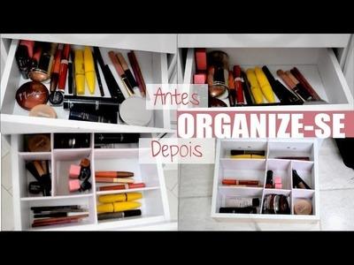 Como fazer divisórias para gaveta - organize-se VEDA #5