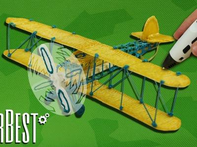 Como fazer um Avião com uma Caneta 3D