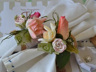 Como fazer uma linda lembrancinha de casamento vintage reciclavel