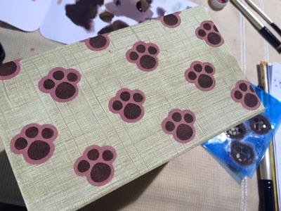 DIY | Faça Você Mesmo: Caixinha de Páscoa com Stencil | Livia Fiorelli | LifeArtesanato