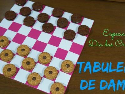 DIY | Jogo de Damas Especial Dia Das Crianças