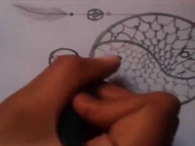 ✖ Drawing - Ying & Yang [Filtro dos Sonhos]