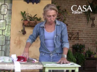 Mãos à obra: aprenda a customizar uma mesa