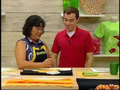Programa Arte Brasil - 16.01.14 - Julia Passerani - Girassil em Patch Apliquê