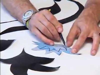 Adesivos de paredes - Aprenda a fazer e copie os moldes