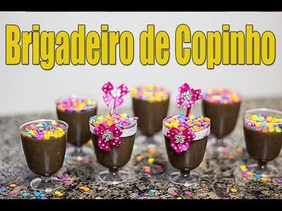 Brigadeiro de Copinho - Como fazer brigadeiro - Receita fácil de fazer :)